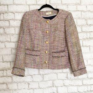 J. Crew Confetti Tweed Blazer Size Medium